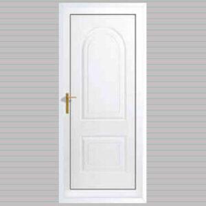 Verona Solid uPVC Back Door