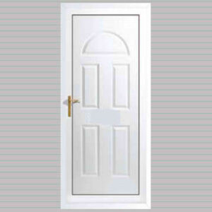 Toulouse Solid uPVC Back Door