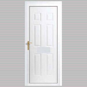 Palermo Solid uPVC Back Door