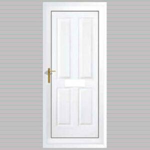 York Solid uPVC Back Door