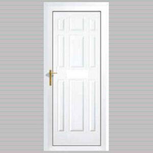 Xanthi Solid uPVC Back Door