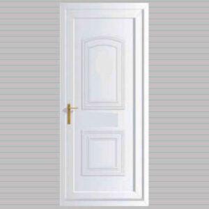 Victorian Solid uPVC Back Door
