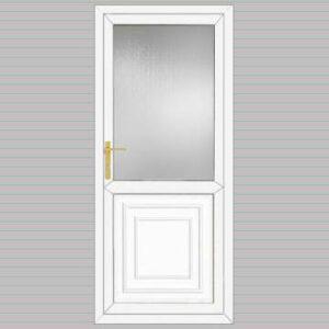 Half Glazed Victorian Panel uPVC Back Door