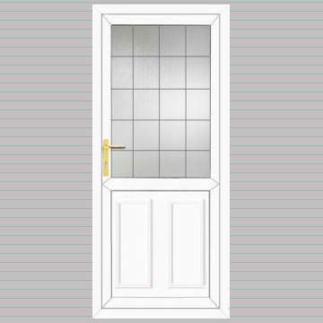 bordeaux solid style upvc front door