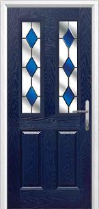 2composite door blue
