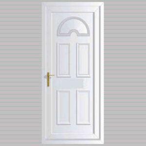Georgian Solid uPVC Door