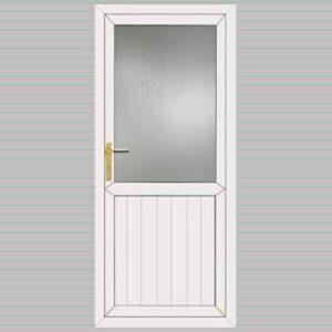 Half Glazed Cottage uPVC Back Door
