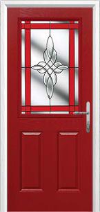 3composite door red