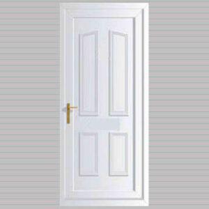 Windsor Solid uPVC Back Door
