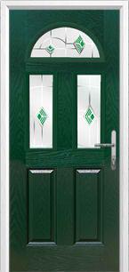 4composite door green