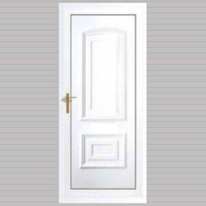 Quebec Solid uPVC Back Door