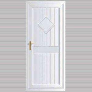 Cornwall Solid uPVC Back Door