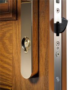 composite door yale handle edge