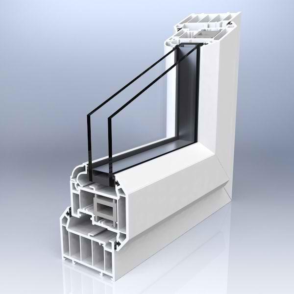 inside window 3d render