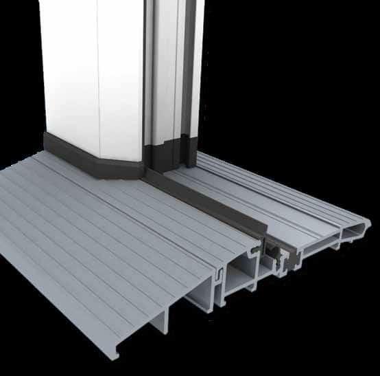 low threshold doors