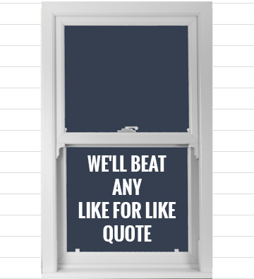 sash window price match guarantee