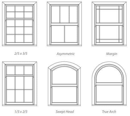 upvc Sash Window Style 2