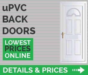 upvc back doors details prices