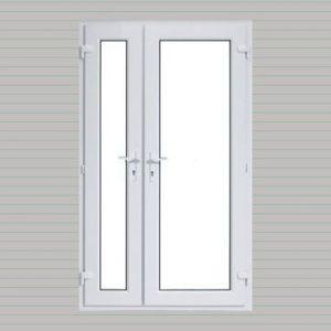 Offset uPVC French Doors