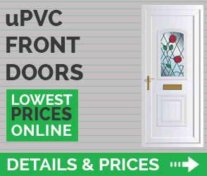 upvc front doors details prices